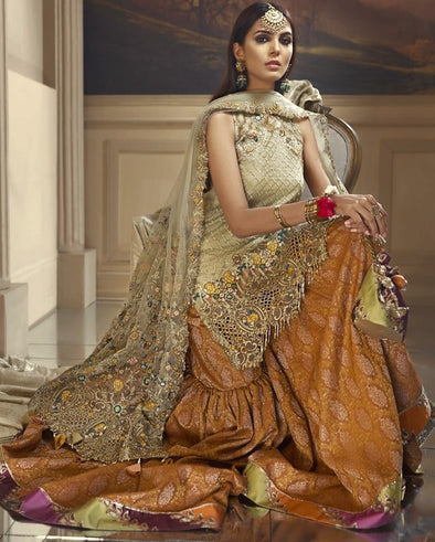 Pakistani Short Shirt Gharara