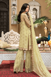 Pakistani boutique wear back view