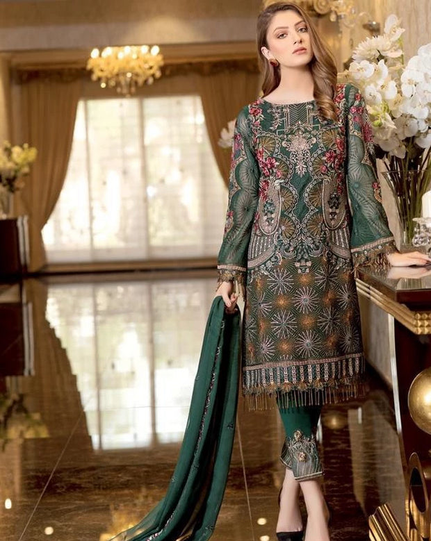 Latest Pakistani Wedding Party Dresses Barat Wear Online Nameera By Farooq,How Much Do Gypsy Wedding Dresses Cost
