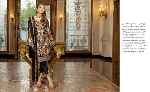 Pakistani Designer Formal Wedding Party Wear Dress 2019 # P1916