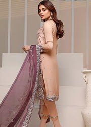Pakistani designer wear in lavish embroidered work and colors # P2470