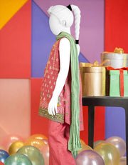 Baby girl kurta shalwar for the event of Eid 1