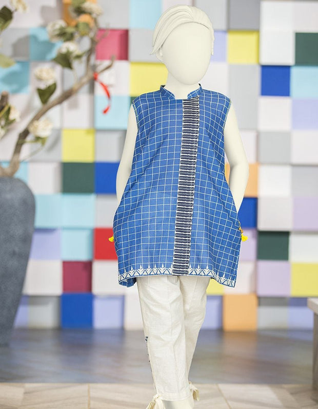 Pakistani kurta style with trouser for little girls