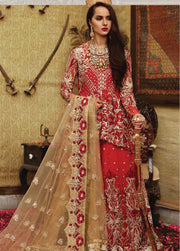 Pakistani latest Embroidered chiffon frock