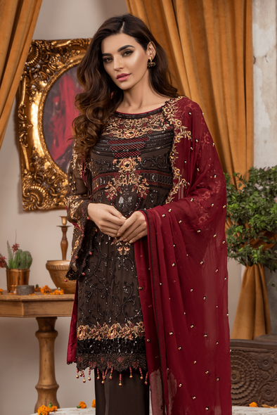 Buy Beautiful and Simple Barat Dress for Women in USA