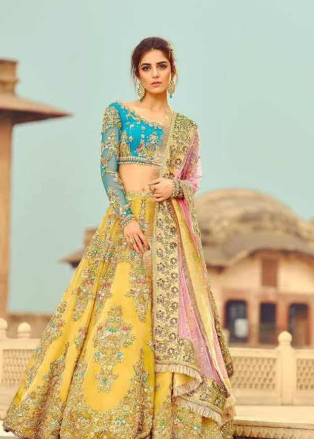 Pakistani wedding bridal lehenga 2019