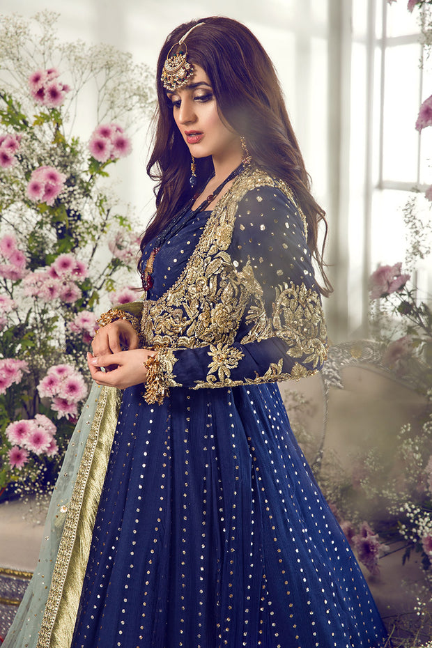 Pakistani Bridal Dress 2020 With Multi Embroidered Work Nameera By Farooq