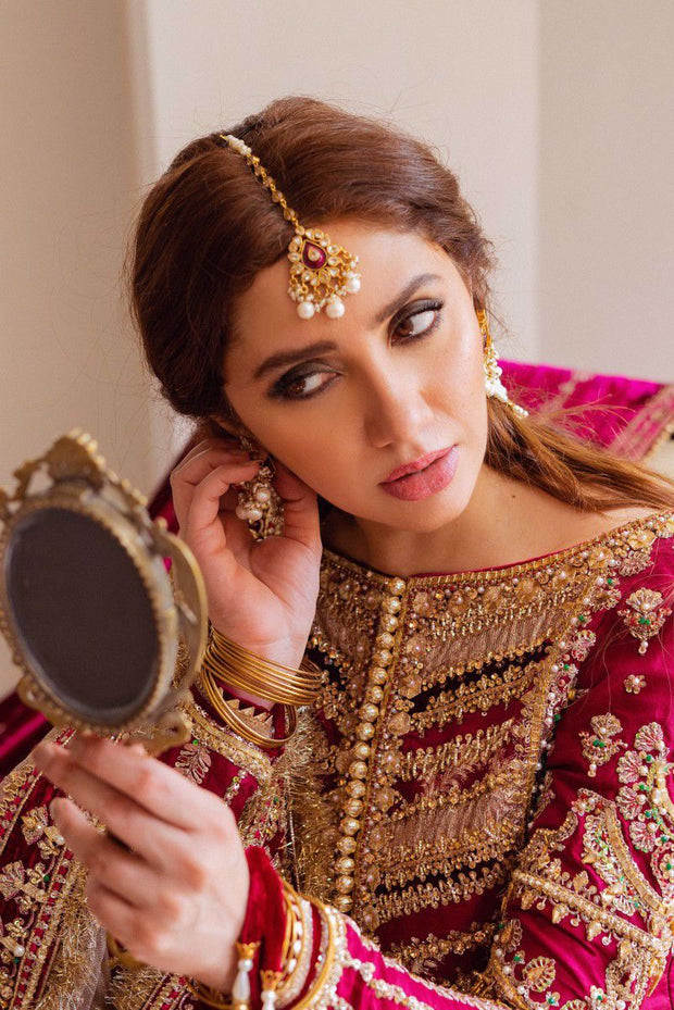 Pakistani traditional bridal wear