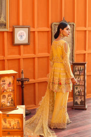 Elegant peplum Pakistani dress online 1