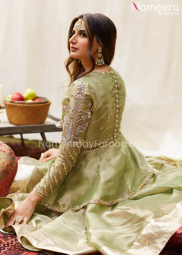 Peplum with Gharara