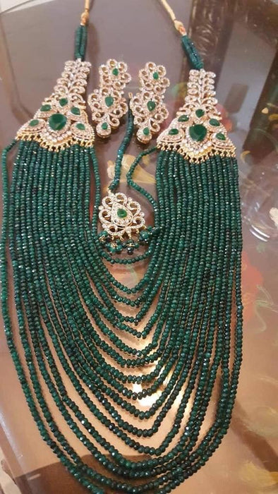 Rani Haar with Pearls Layers