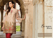 Ready to wear Elegant Crimson Beige