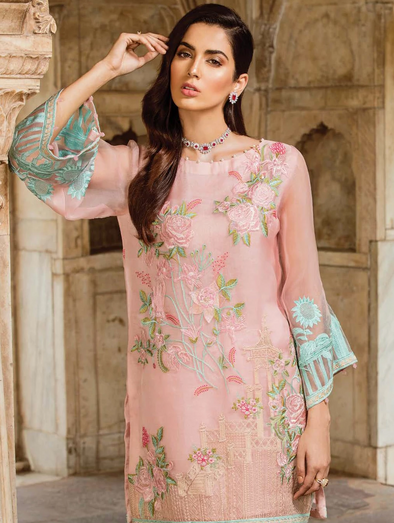 Ready to wear Stunning Sand Pink