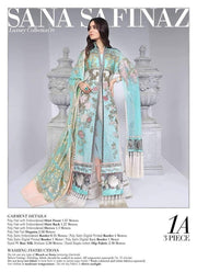 Pakistani Party Dress Luxury Wear by Sana Safinaz # P1911