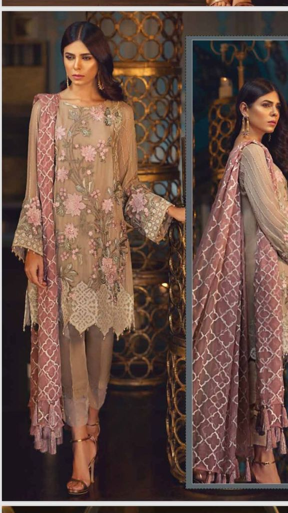 Kurta Shirt and Trouser | Tilla Embroidery And Sequence