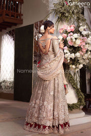 Silver Bridal Dress Online