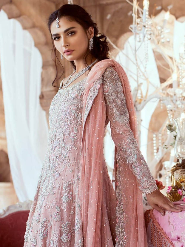 Soft Light Pink Lehenga for Reception 2