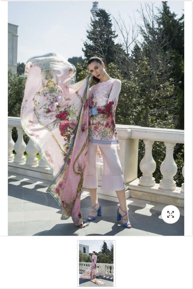 Special Pakistani Lawn Dress for Eid by Honey Waqar in US