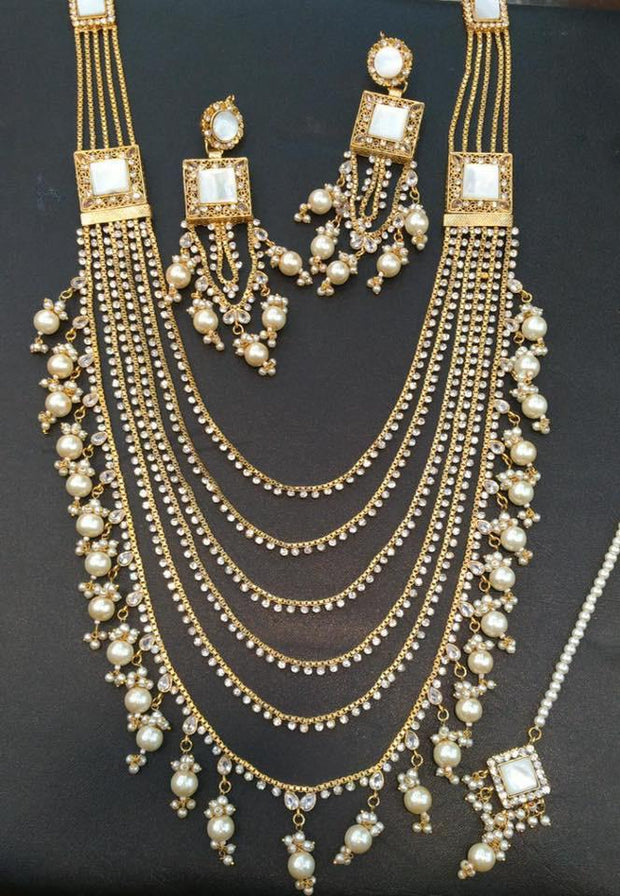 String Rani Haar Necklace Set