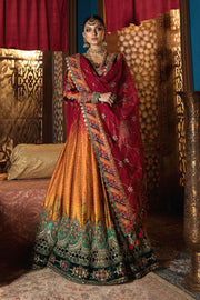 Stylish Pakistani Designer Dress for Wedding Party Dupatta Look