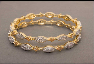 Wedding Metal Gold Bangles