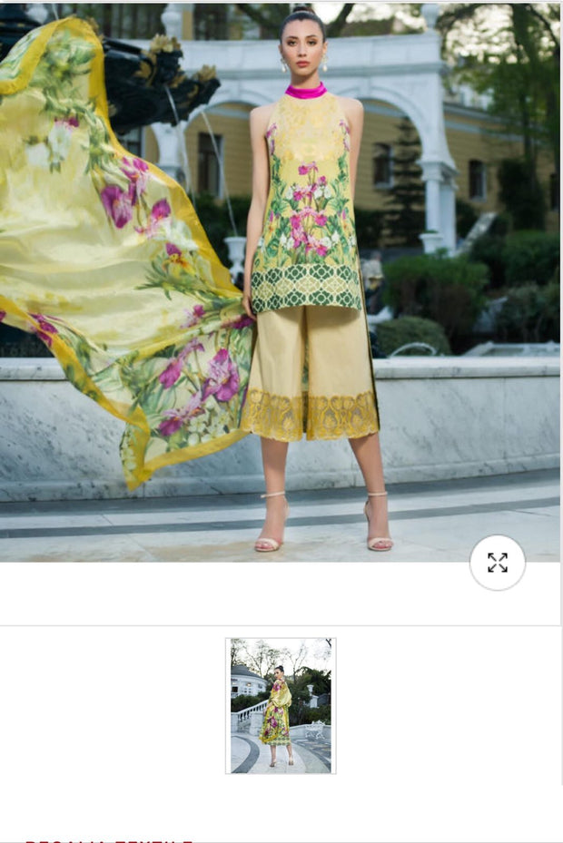 Lawn dress by honey waqar Model# L 1532