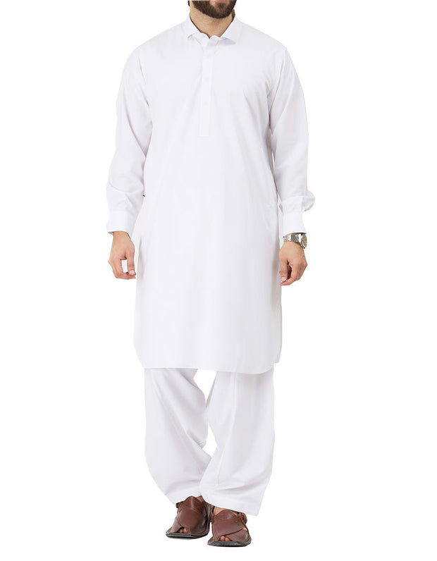 White Men Kurta for Eid