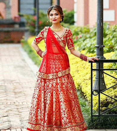 Indian trendy bridal Lehenga choli 2019