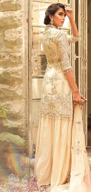 Exquisite sharara dress for engagement 1