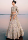 Beautiful bridal embroidered lehnga dress in lavish pink color # B3367