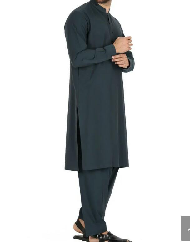 Latest Adorable Polyester Viscose Men Formal Shalwar Kameez 2019