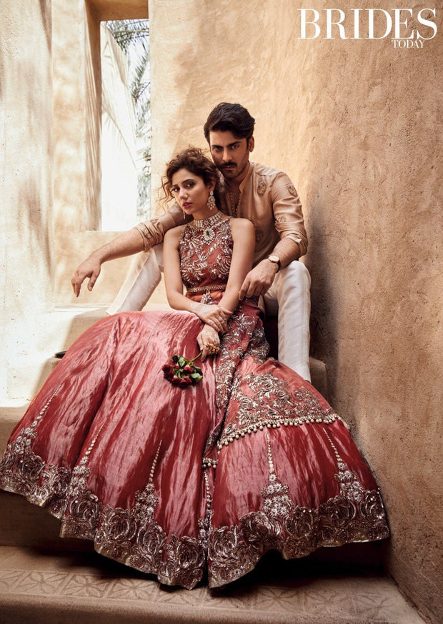 Top Pakistani designer bridal lehenga