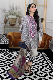 Beautiful designer woven outfit for casual wear in off-white color