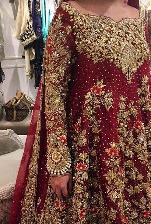 Wedding bridal dress pearls dabka and threads Model #B 116