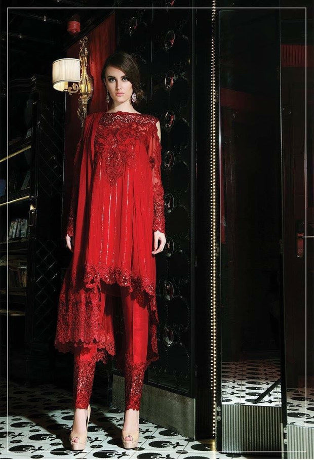 Eid dresses 2017 chiffon Model #Eid 20