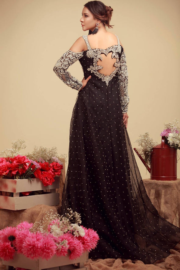 Wedding bridal dress with dabka nagh and cut work  M#B 143