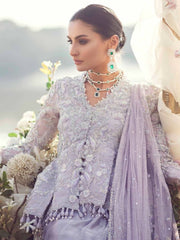 Beautiful Eye catching Indian Lavender lehenga 1