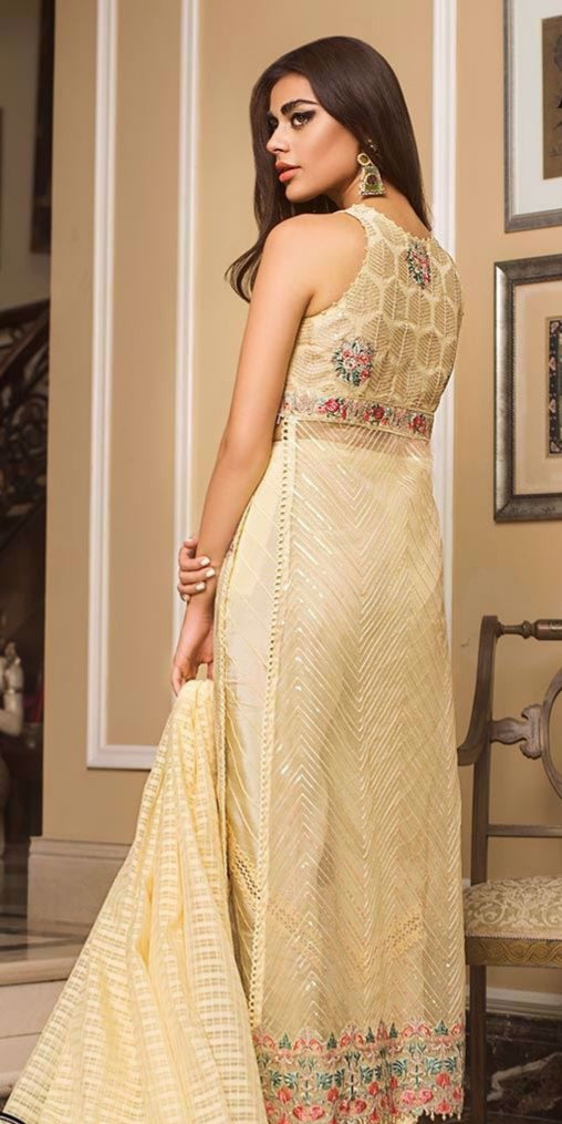 28cf3f2f503 Indian party wear dresses nicely embroidered – Nameera by Farooq