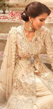 Exquisite sharara dress for engagement 2