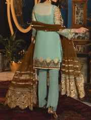 Pakistani suit with pants for women festive