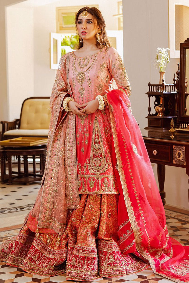 long shirt with gharara