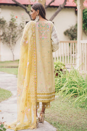 Beautiful Pakistani masuri embroidered outfit in beige color # P2376