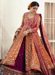 Kalidaar Heavy Embroidered Bridal Lehenga 1