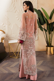Party wear suit in rosy pink color