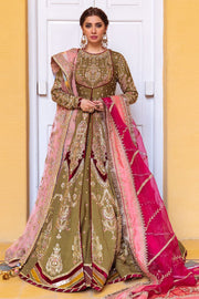 peshwas with bridal lehenga