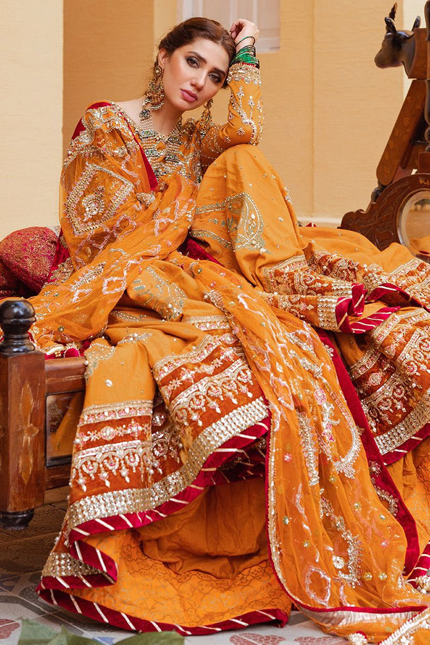 royal Pakistani bridal wear collection