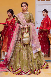 traditional peshwas with lehenga