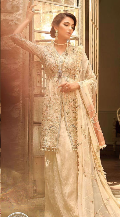 Exquisite sharara dress for engagement