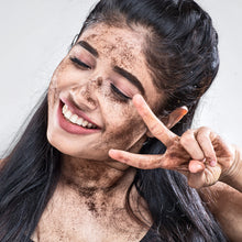 Charcoal Chocolate Coffee Scrub