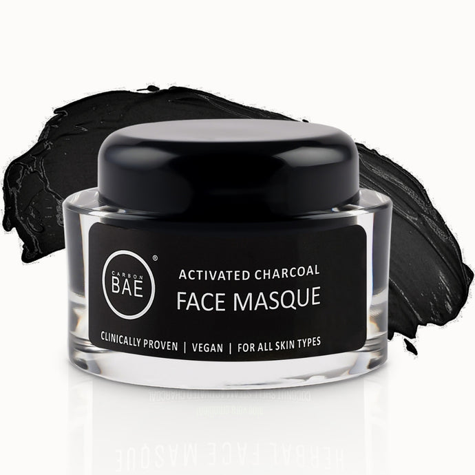 carbon bae charcoal face mask